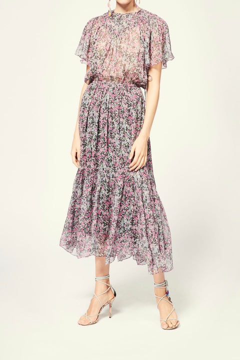 Odelia Dress - Faded Night