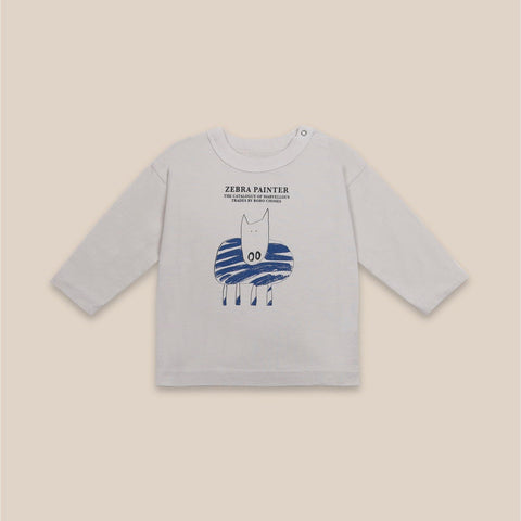 Babies Zebra Painter Long Sleeve T-Shirt