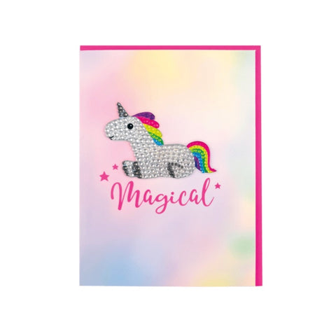 Unicorn Magical Decal Card