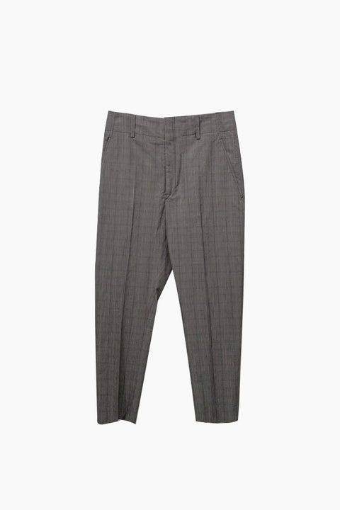 Noah Pants - Burgundy/Grey