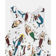 Mermaids Cotton Dress