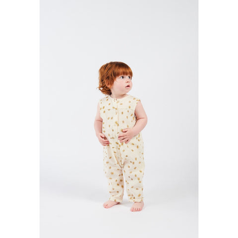 All Over Daisy Woven Overall