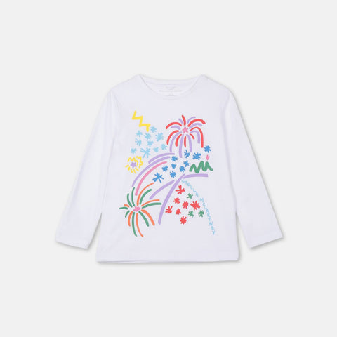 Fireworks Cotton T-Shirt