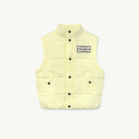 Yellow The Animals Lemur Kids Jacket