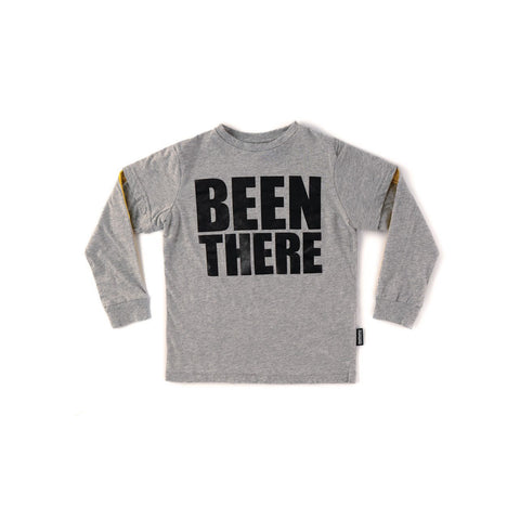 Babies Been There Meter Shirt - Grey