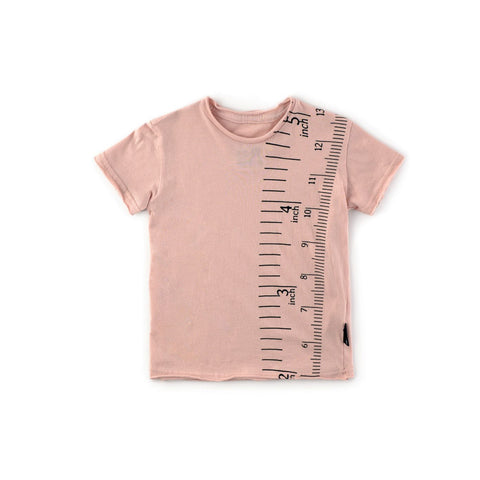 Baby Girls Measuring Band T-Shirt - Pink
