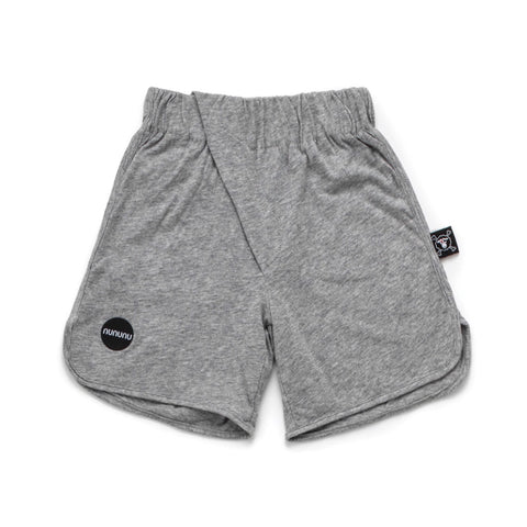 Diagonal Light Shorts - Grey