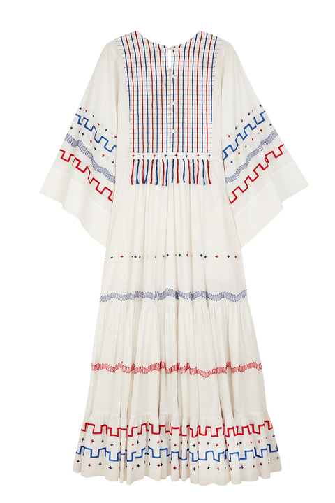 Embroidered Gypsy Dress