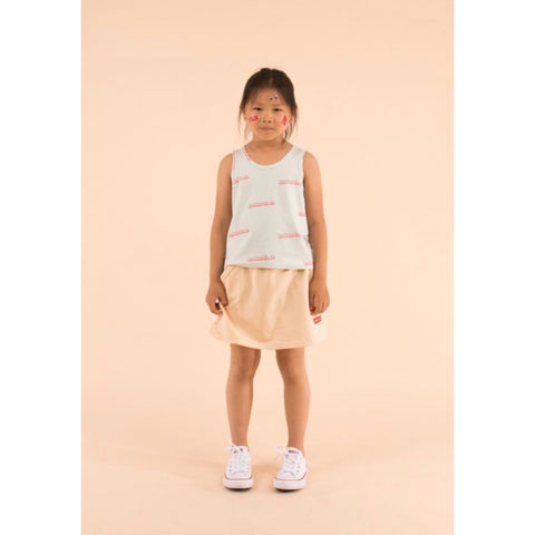 'BUBBLE YEAH' Kids Crop Tank Top