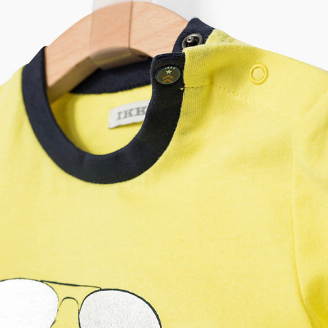Plane Graphic Yellow T-shirt