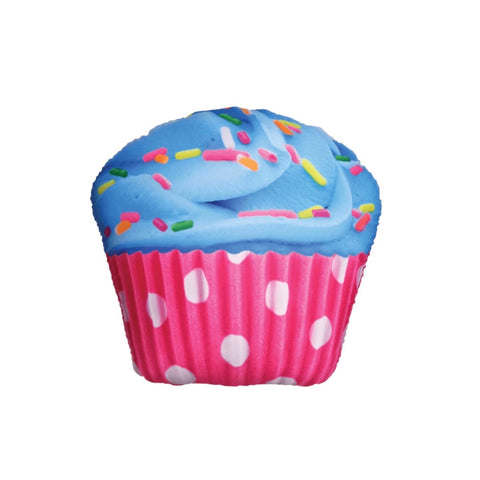 Polka Dot Cupcake Scented Microbead Pillow
