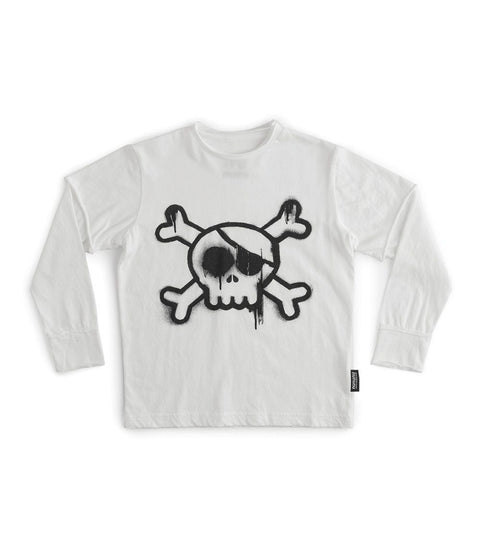 Kids Sprayed Skull Tee