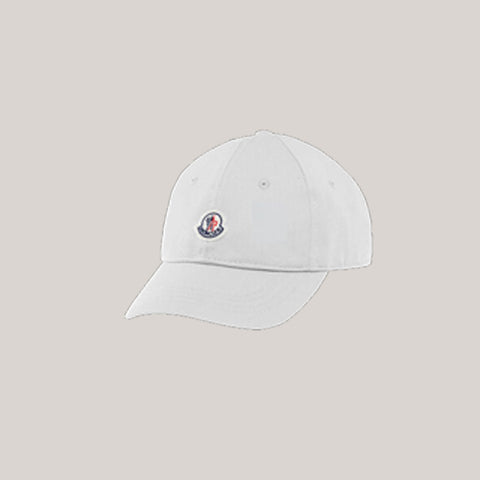 Kids Baseball Cap - White