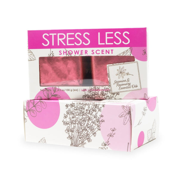 2-Pack Stress Less Shower Scent Gift Box