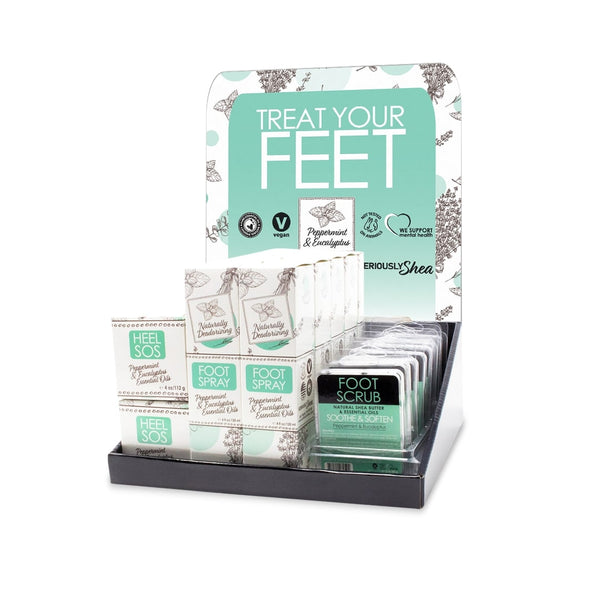 Treat Your Feet Counter Display