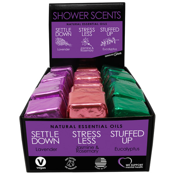 Assorted Shower Scent Display