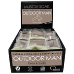 Outdoor Man Mini Muscle Soak Display
