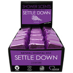 Settle Down Shower Scent Display