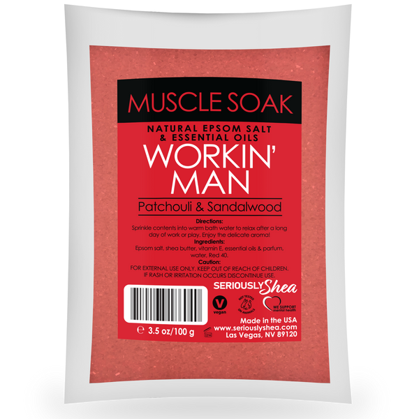 Workin' Man Mini Muscle Soak