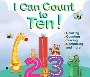 I Can Count To Ten! - Activity Book