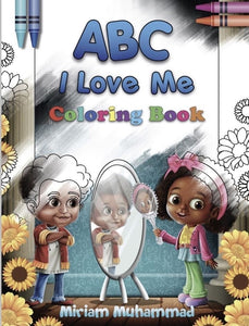 ABC I Love Me - Coloring Book