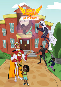 First Responders: Go To School - Comic Book