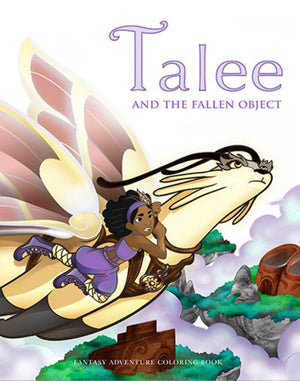 Talee and the Fallen Object - Coloring Book
