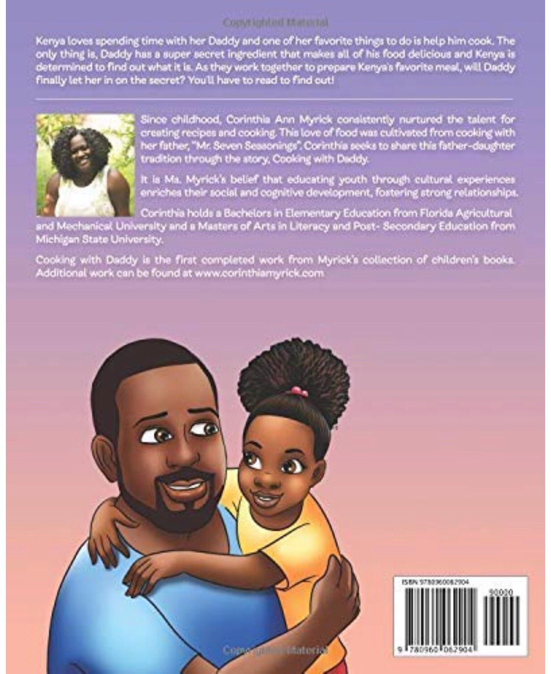 Cooking with Daddy - Paperback