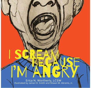 I Scream Becasue I'm Angry - Paperback