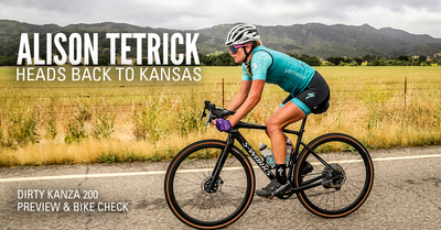 ALISON TETRICK HEADS BACK TO KANSAS: DK 200 PREVIEW & BIKE CHECK
