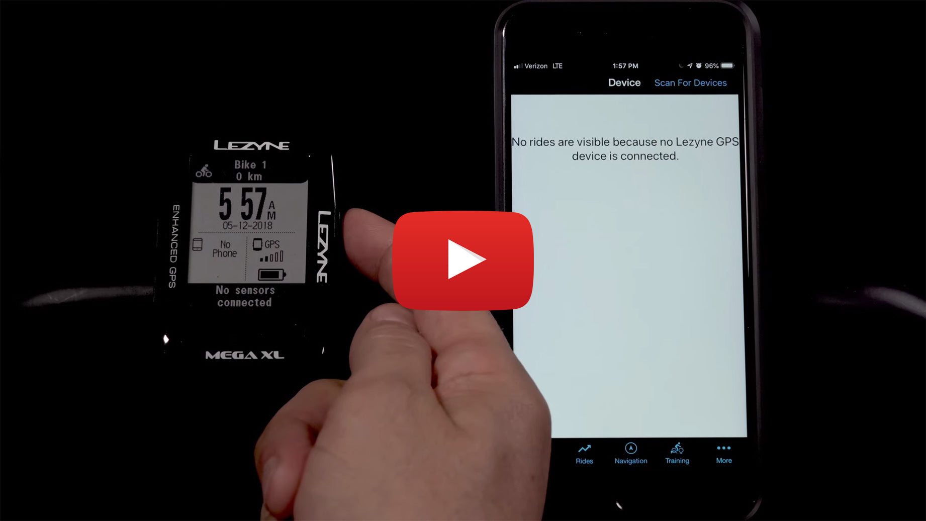 Lezyne Mega GPS Feature Overview