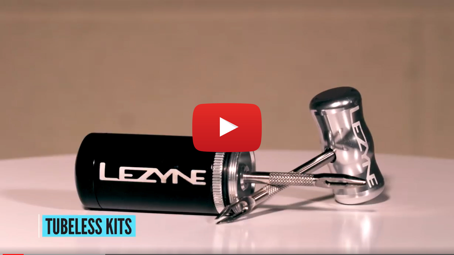 How To Plug A Tubeless Tire - Lezyne Tubeless Kit
