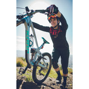 mountain bike with  bottle cage