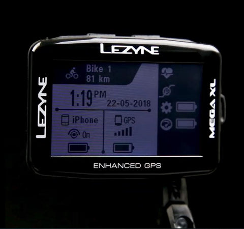 MEGA XL CYCLING GPS – Lezyne