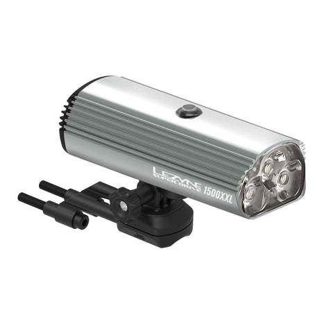 Lezyne Super Drive 1500XXL Front LED Cycle Light USB rechargeable Black