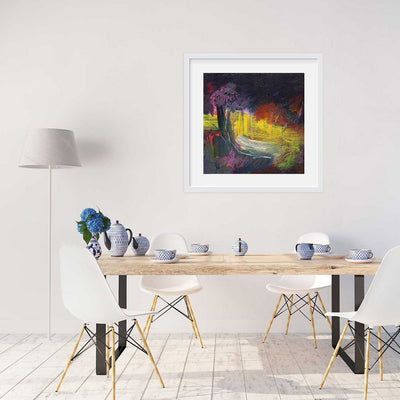 A giclee print of Botanical Gardens in Sydney