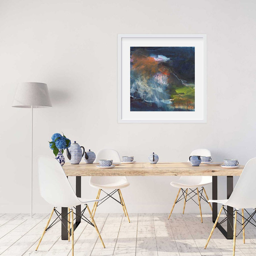 A giclee print of Fitzroy Falls in Australia
