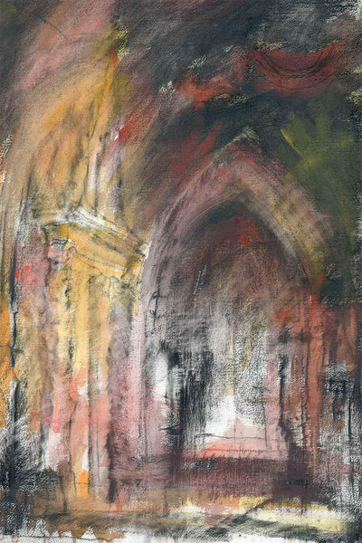 A giclee print of St Martin Church