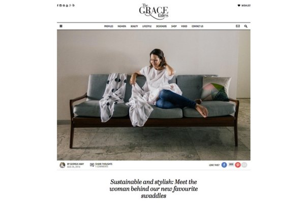 The Grace Tales | 'Meet The Woman Behind Our New Favourite Swaddles'