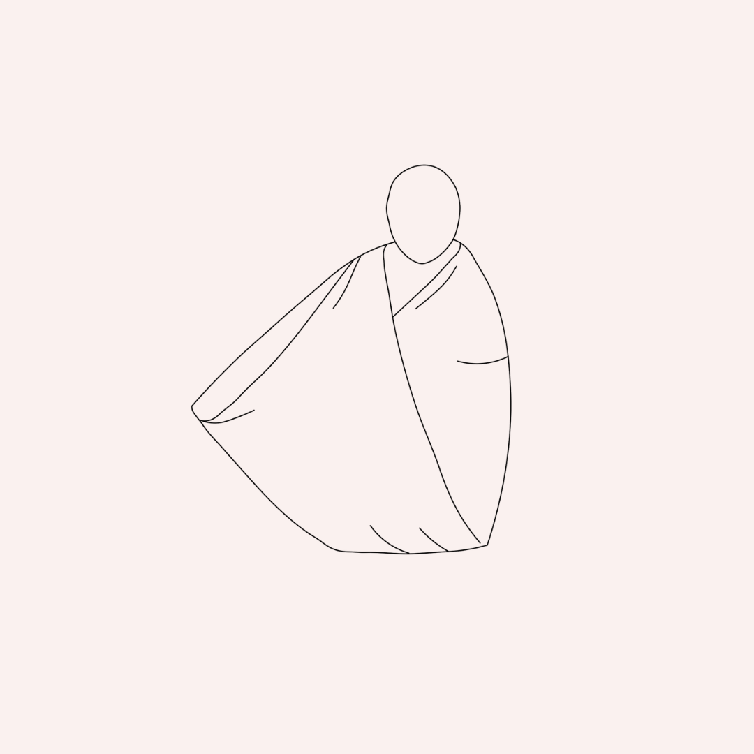 how to swaddle step 4
