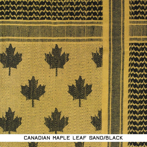 Camcon - Shemagh Canadian Maple Leaf