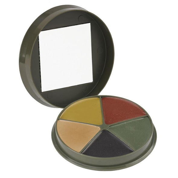 Camcon - 3 Color Camouflage Cream Compact W/mirror