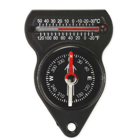 Ndur - Mini Compass W/thermometer