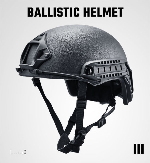 HIGH CUT BALLISTIC HELMET NIJ0101.06 LEVEL IIIA
