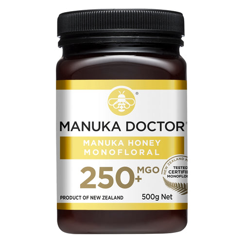MGO 250+ Monofloral Mānuka Honey 500g