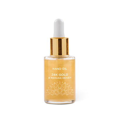24K Gold & Manuka Honey Hand Oil