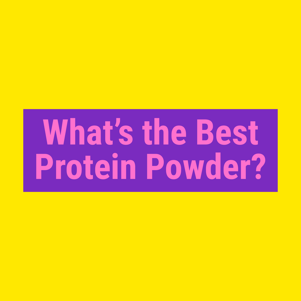 Best Types Of Protein Powder For Weight Loss