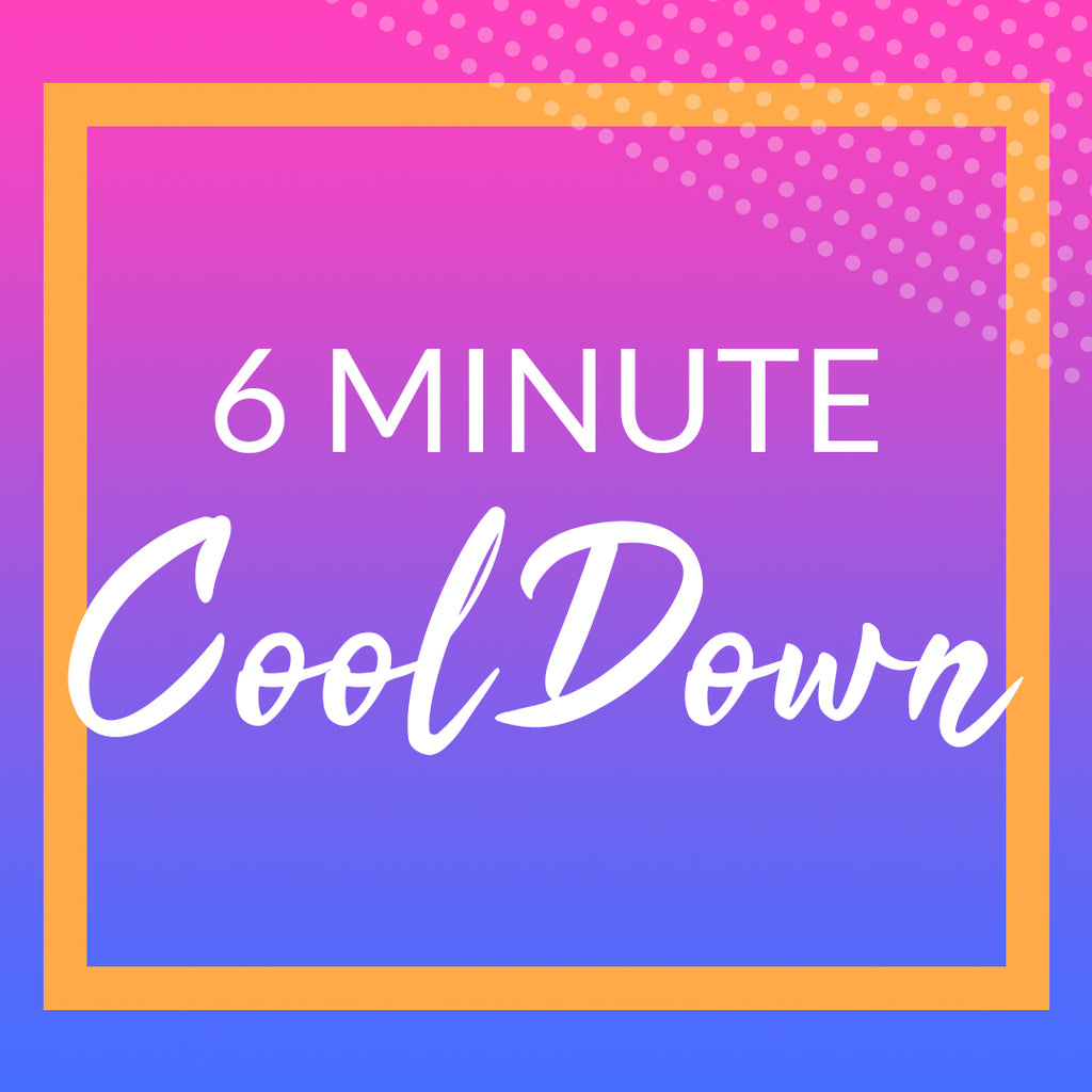 6 Minute Post Workout Cool Down & Stretch