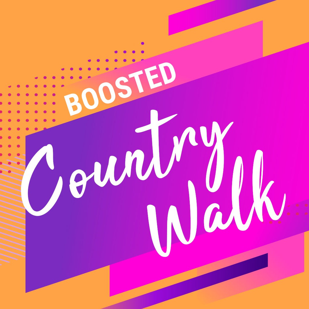 Boosted Country Walk