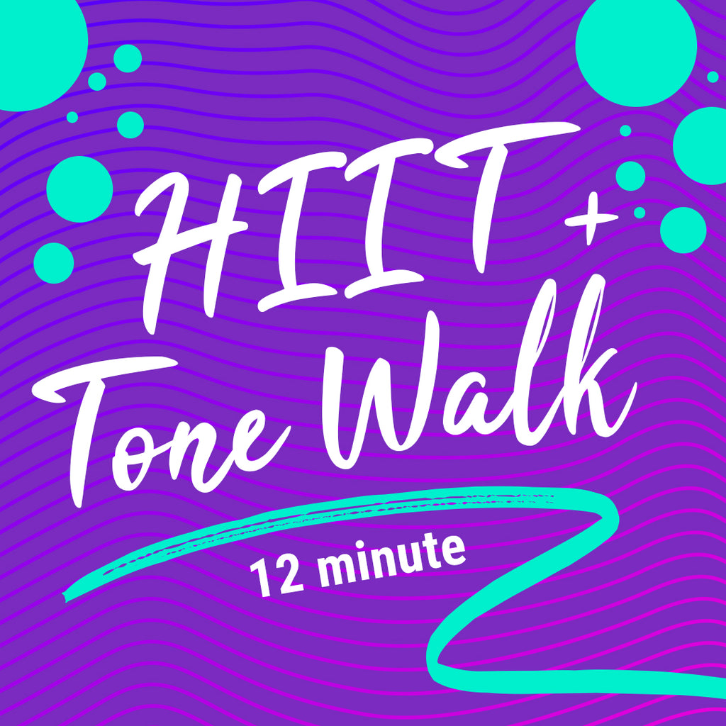 12 Minute HIIT and Tone Walking Workout
